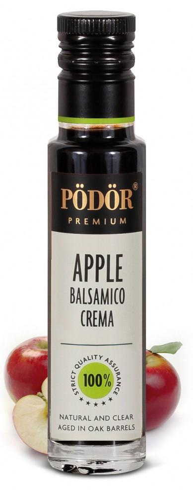 Apple balsamico crema