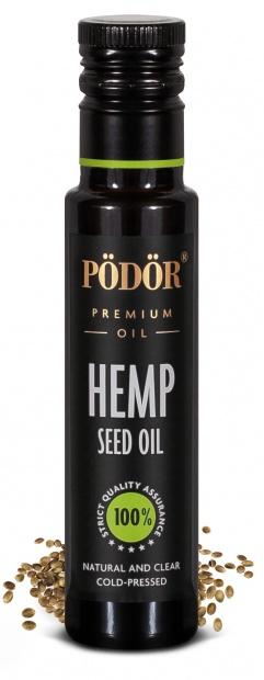 Hemp seed oil, cold-pressed_1