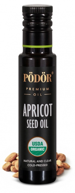 Organic apricot seed oil, cold-pressed_1