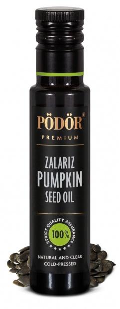 Pumpkin seed oil, zalariz, cold-pressed_1