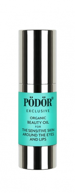 Organic beauty oil for the sensitive skin around the eyes and lips_1