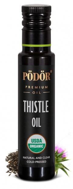 Organic milk thistle oil, cold-pressed_1