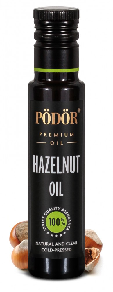 Hazelnut oil from Piedmont hazelnuts