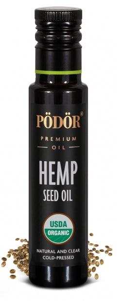 Organic hemp seed oil, cold-pressed_1